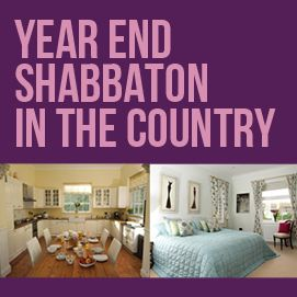 Ladies Year End Shabbaton in the Country