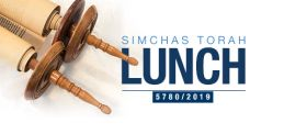 Simchat Torah Communal Lunch